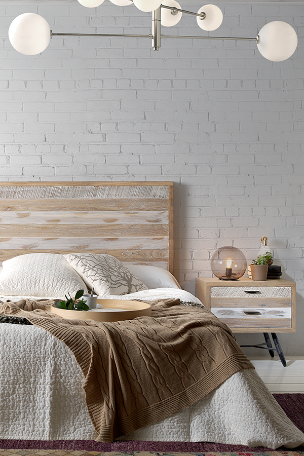 Ideas para decorar tu dormitorio 77 ideas modernas for Color de cortina con pared blanca