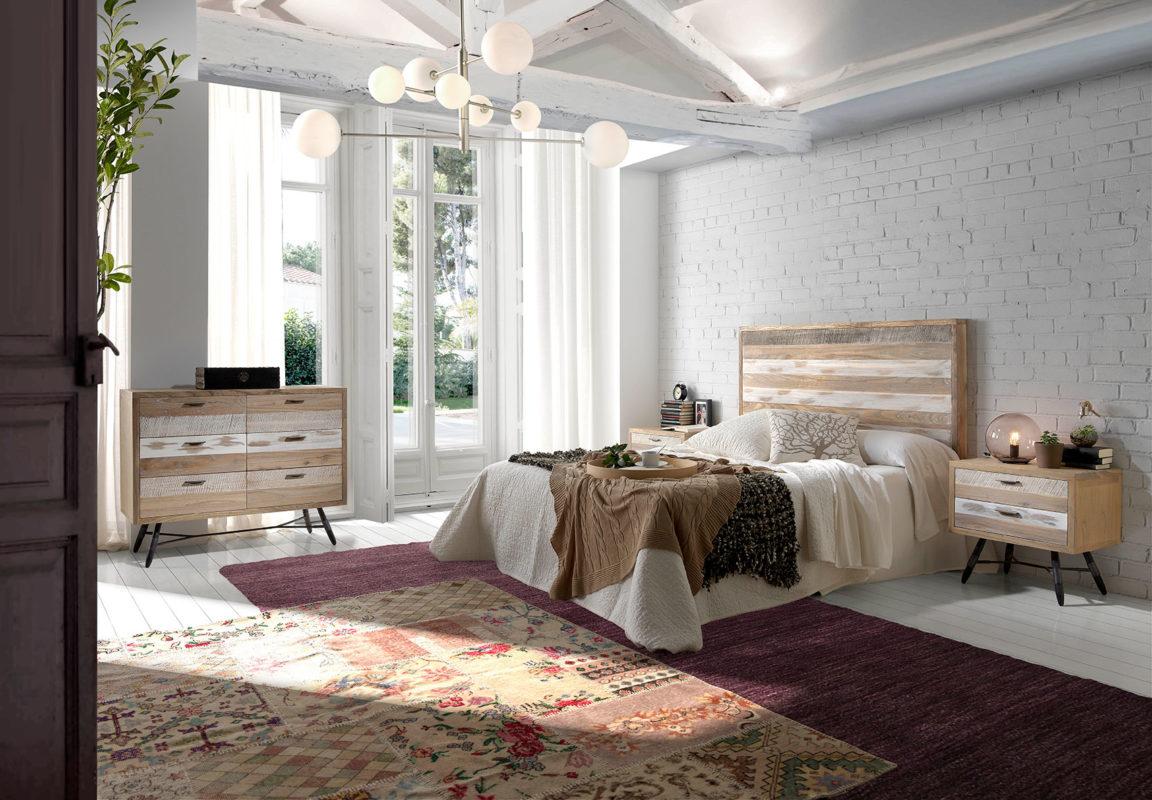 Dormitorio Alfombra Vintage Floral