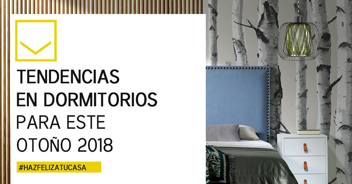 Tendencias en dormitorios para otoño 2018